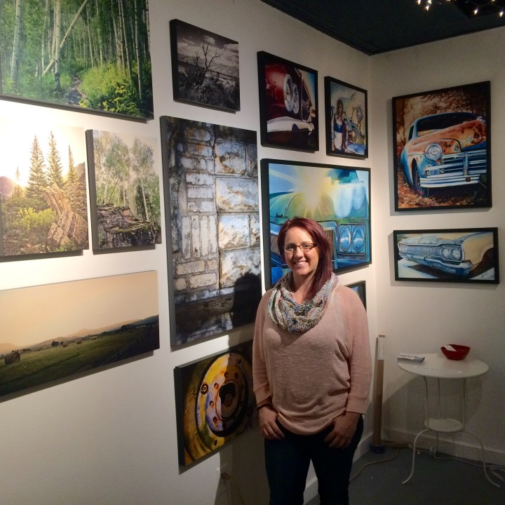Denver First Friday Art Walk - My First Time Showing!