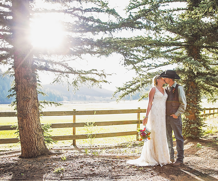 Tanksley Wedding - Deer Creek Valley Ranch - Bailey, CO
