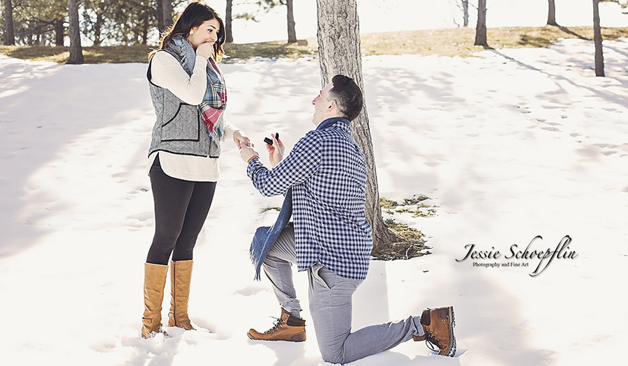 Julianne and Joe Get Engaged! | Colorado | Winter