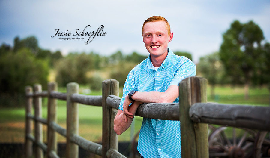 Dylan Senior Pictures - Adams County Fairgrounds