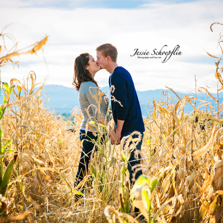 Cute Couple Session - Arvada Fall Colors
