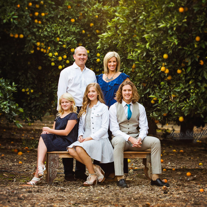 Grames Family Pictures - Orange Grove