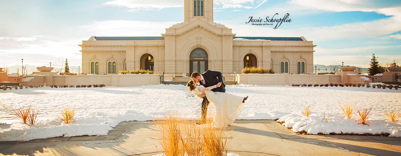 Colorado Wedding Photography - Fort Collins Temple Wedding