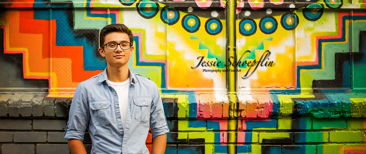 Senior Photo Session -RiNo Art District, Denver - Ben