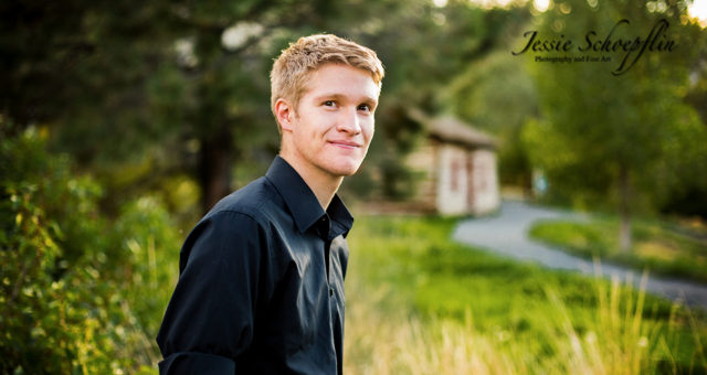 Clear Creek History Park - Senior Pictures in Colorado