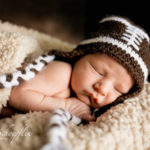 newborn-boy-football